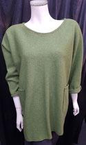 Pullover grün / lang