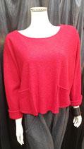 Pullover rot / kurz