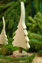 natur Weihnachtsbäume - Tischaufsteller