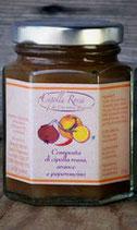 Cipolla Rossa, arancia e peperoncino