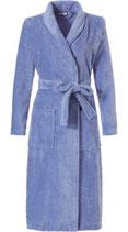 Morning gown met sjaalkraag 115 cm