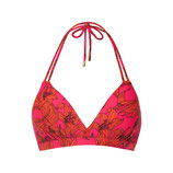 Pink Lillies halter padded top