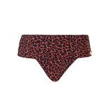 Flipover bikini brief Leopard