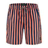 Midi stripe swim short
