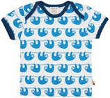 loud + proud - T-Shirt Faultiere, cobalt