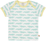 loud + proud -  T-Shirt Krokodile, mint