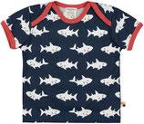 loud + proud -  T-Shirt Haie, ultramarin