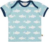 loud + proud -  T-Shirt Haie, lagoon