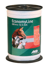 AKO EconomyLine Weidezaunband 12,5mm  200m