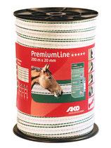 AKO PremiumLine Weidezaunband 20mm  200m
