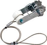 Patura Ratschenspanner mit Isolator und Seil