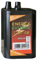 Zink-Kohle 9V Trockenbatterie