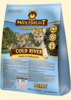 Wolfsblut - Cold River Puppy - 15 Kg Sack