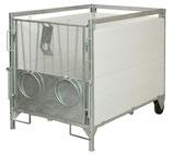 Kälberbox groß 160 x 100 cm - Lieferung FREI HAUS
