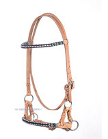 Beaded Sidepull harness