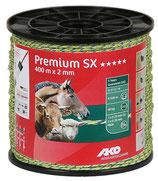 AKO Premium SX Weidezaunlitze, 400m, 2mm