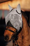 Fliegenmaske mit Ohrenschutz