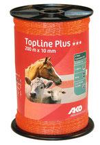 AKO TopLine Plus Weidezaunband 10mm  200m