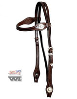 Silver Headstall - Straight