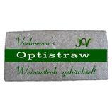 Optistraw Weizenstroh gehäckselt 3- 7cm- Saugfähige Einstreu für Tiere - Lieferung FREI HAUS