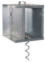 Anti-Diebstahlset für Metall-Akkukasten