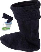 Fleece-Stiefel-Socke