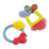 Babymoov Beißring 2er-Set Baby-Zahnpflege