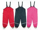 Regenlatzhose gefüttert marine und pink