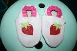 Lederfinkli rosa/pink Erdbeere