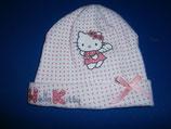 Mütze weiss Hello Kitty