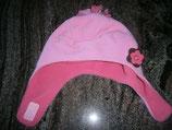Fleece Mütze rosa /pink