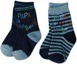 BISAL Socken | Design mama/papa is the best 2er Set