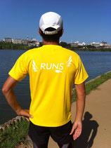 RUNS‐Tシャツ レギュラータイプ デイジー