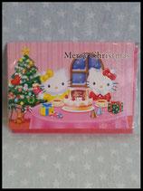 Hello Kitty, X-Mas Karte, mittel 2