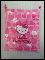 Turnbeutel, Hello Kitty, apple