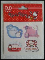 Hello Kitty, X-Mas, Weihnachts Sticker, Geschenkesticker