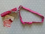 Hundeleine & Hundehalsband, Haustierleine & Halsband, Leinen Set, Hello Kitty, s pink
