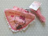 Hundeleine & Hundehalsband, Haustierleine & Halsband, Leinen Set mit Halstuch, Hello Kitty, m rosa