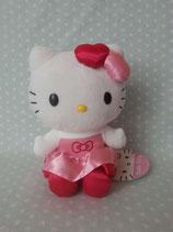 Kuscheltier, Stofftier, Plüschfigur, Hello Kitty, M heart