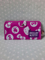 Brieftasche, Portemonnaie, Geldbörse, Geldbeutel, Damen, Hello Kitty, dot pink