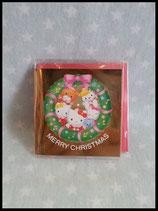 Hello Kitty, X-Mas Karte, klein 2