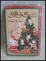 Hello Kitty, X-Mas Karte, mittel 6