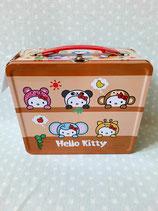 Metall Koffer, Aufbewahrungs Box, Kiste, Hello Kitty, safari