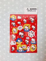 Sticker, Aufkleber, Hello Kitty, tulip