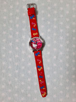 Armbanduhr, Kinder Uhr, Hello Kitty, ribbon