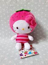Kuscheltier, Stofftier, Plüschfigur, Hello Kitty, S fruit strawberry