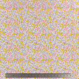 TISSU LIBERTY TANA LAWN WHILTSIRE BUD MINI ROSE MOUTARDE 34 T0116 A