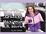 """Black Galaxy Lady"""