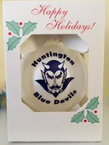 Happy Holidays get your Blue Devils Ornament and show your eyes with pride!