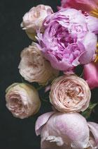Moody Florals II - Mint by Michelle decoupage
